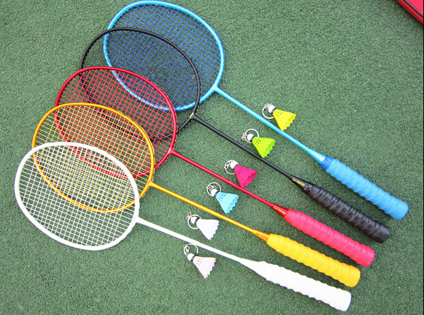 types of badminton rackets